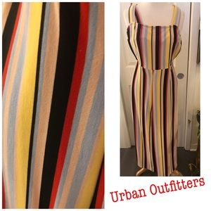 Urban Outfitters Stripe Jumpsuit